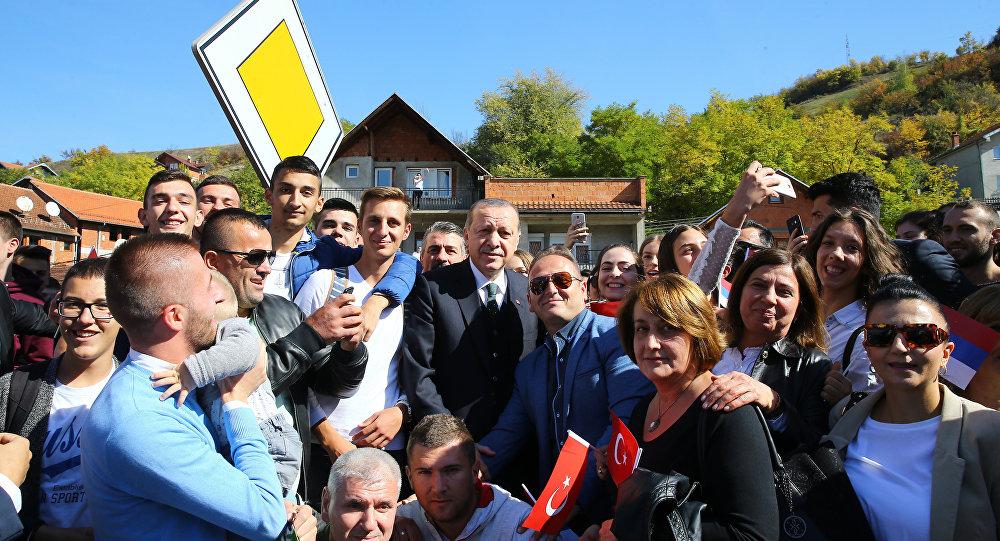 Cumhurbaşkanı Recep Tayyip Erdoğan, Sırbistan'da