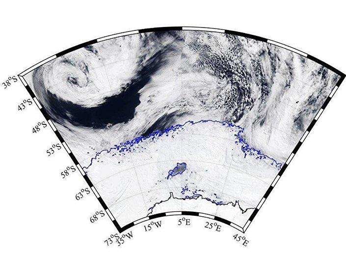 Antarktika'da delik