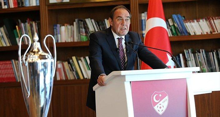 Türkiye Futbol Federasyonu (TFF) Başkanı Yıldırım Demirören