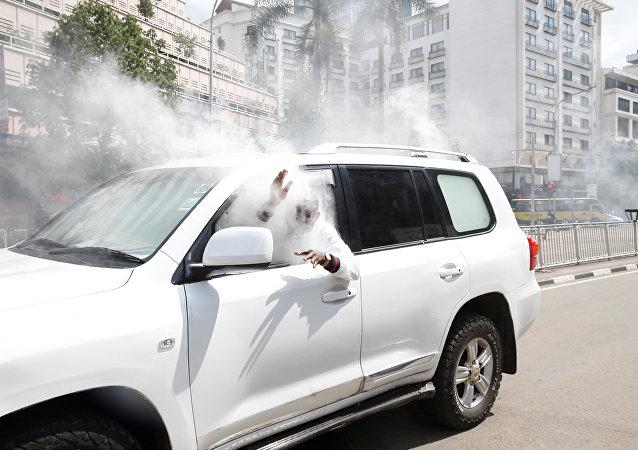 Kenya'da muhalefetten protesto