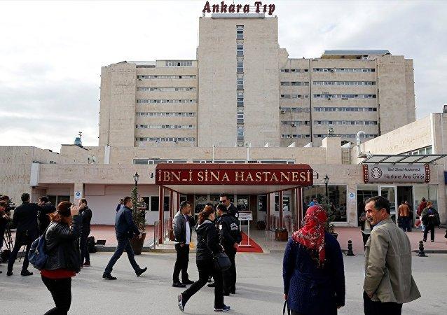 Eski CHP Genel Başkanı Deniz Baykal, Ankara Üniversitesi İbn-i Sina Hastanesinde tedavi altına alındı