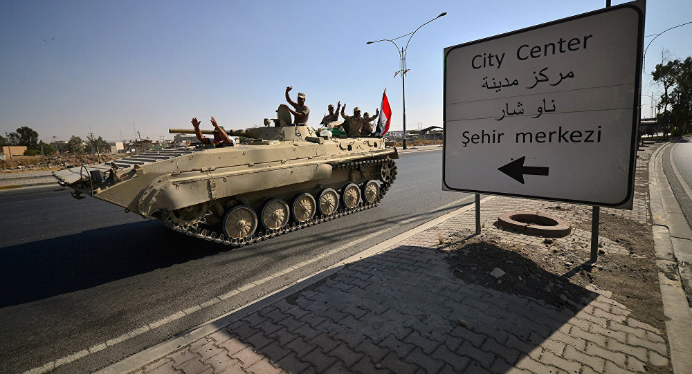 Irak güçleri, Kerkük'te