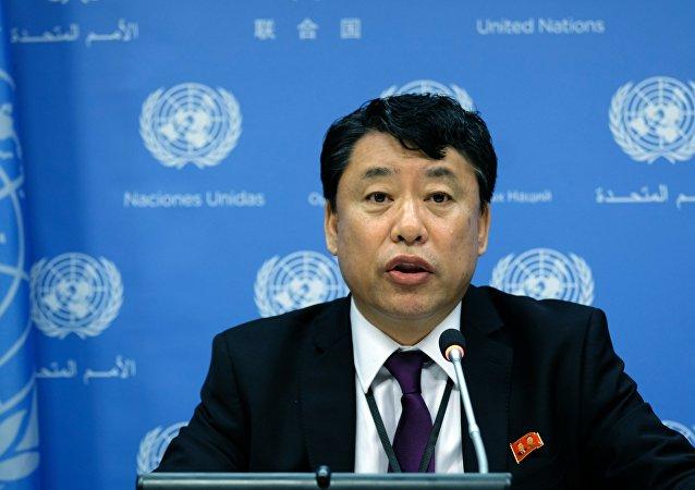 Kuzey Kore'nin Birleşmiş Milletler Büyükelçisi Yardımcısı Kim In-ryong