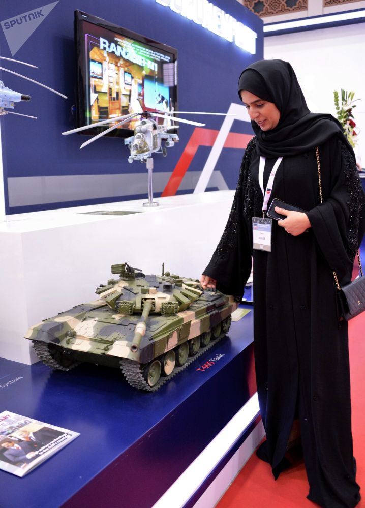 Bahreyn'in ev sahipliği yaptığı Uluslararası Savunma Fuarı'ndan görüntüler