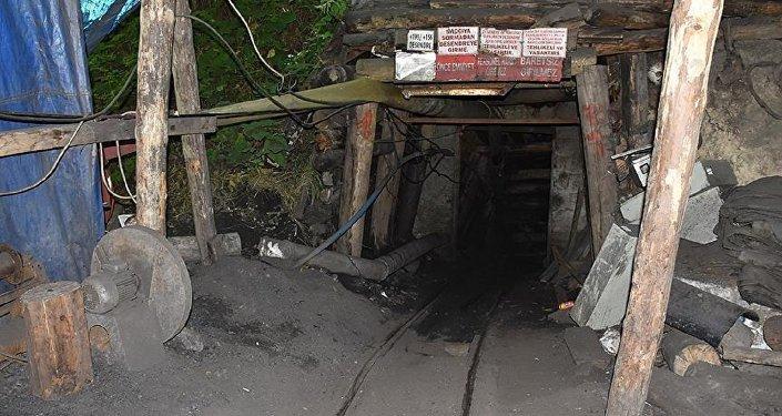 Kömür madeni, göçük
