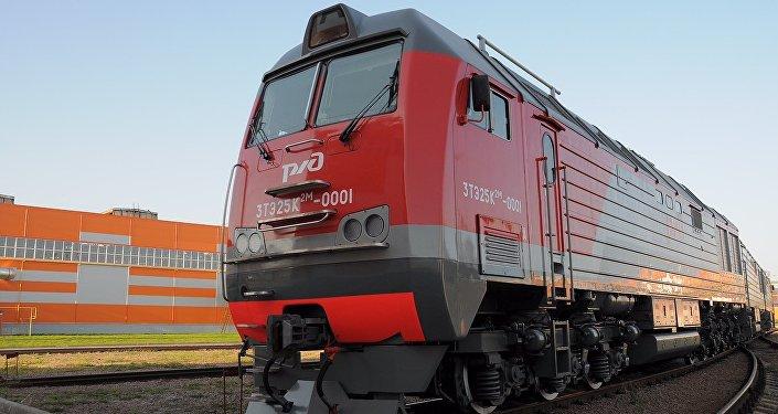 3TE25K2M kargo lokomotifi.