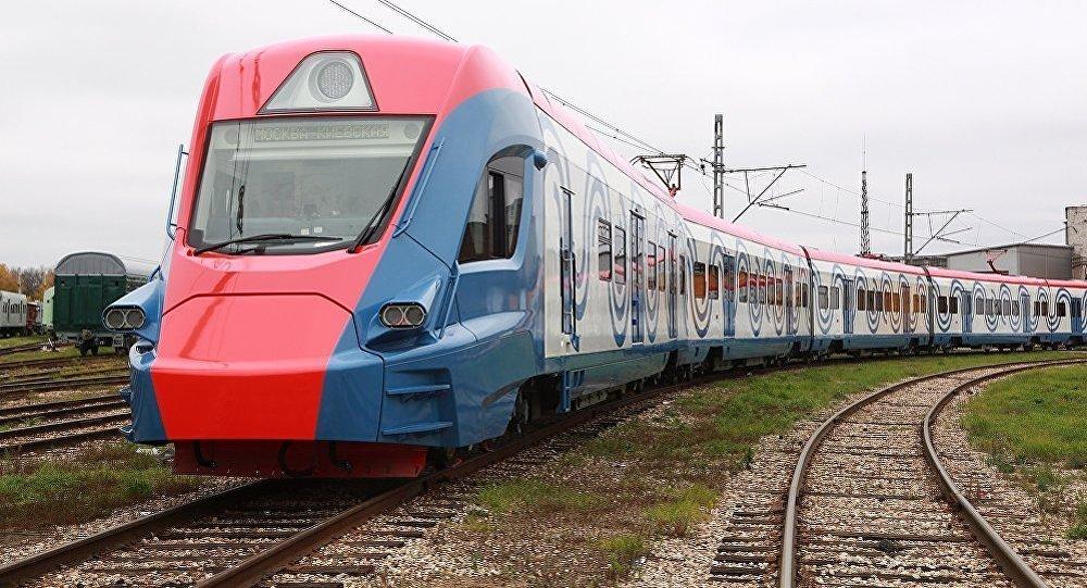 Transmaşholding tarafından geliştirilen tren.