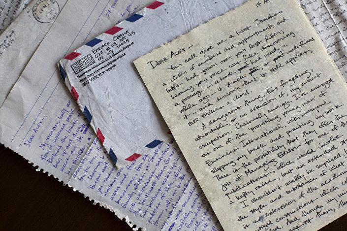 Obama'nın yazdığı aşk mektupları Emory Üniversitesi'nin arşivinde duruyor.