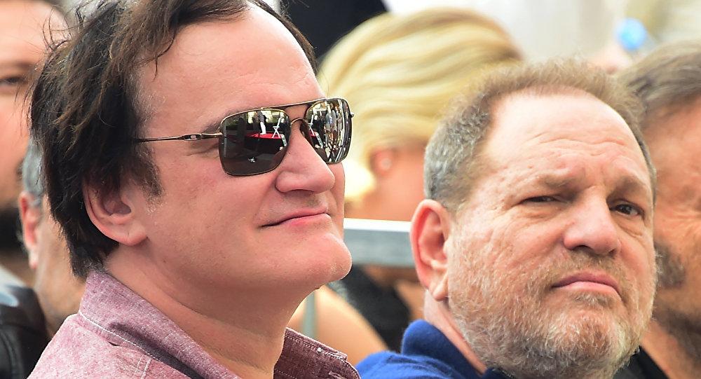 Yönetmen Quentin Tarantino- Yapımcı Harvey Weinstein