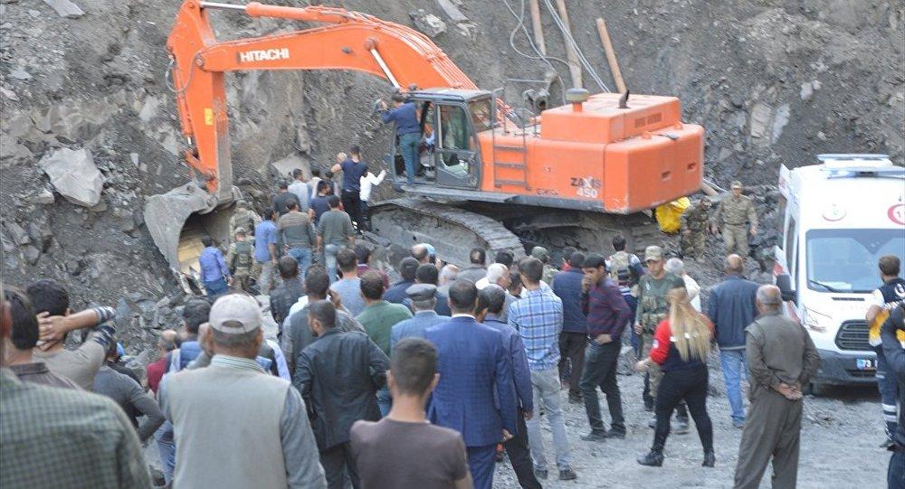 Şırnak-kömür ocağı-göçük