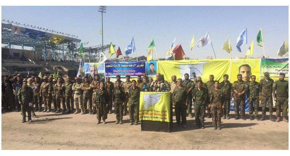 Hicazi: Rakka'nın yönetimi Öcalan posterleri açan işgalcilerin eline geçti