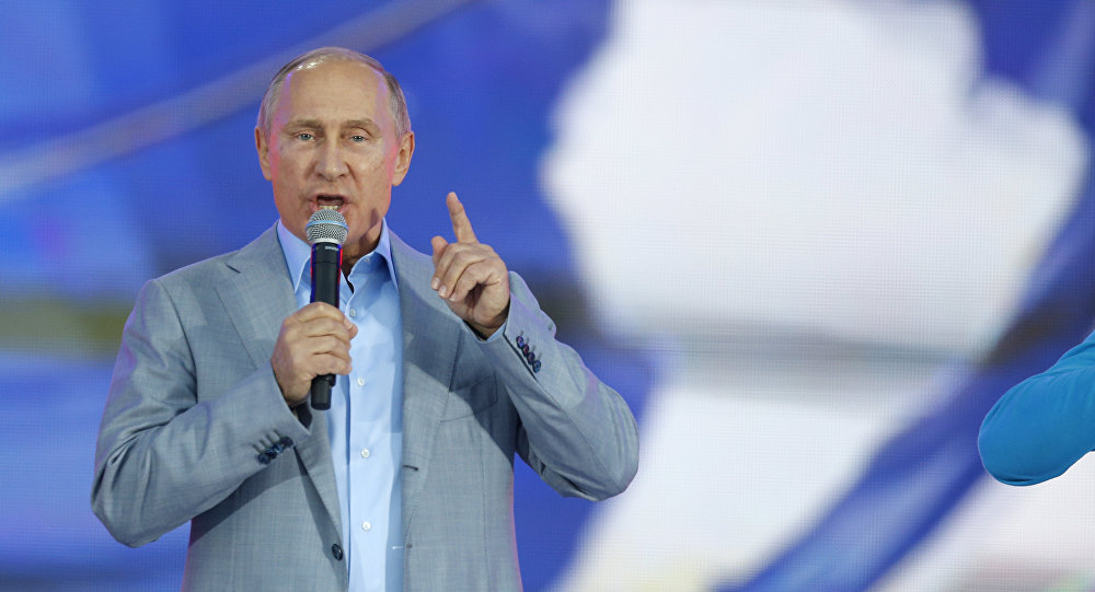 Putin - Sochi - Gençlik ve öğrenci festivali