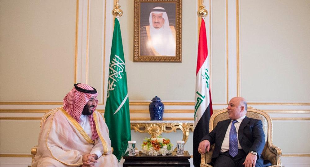 Irak Başbakanı Haydar el İbadi - Suudi Arabistan Veliaht Prensi Muhammed bin Selman