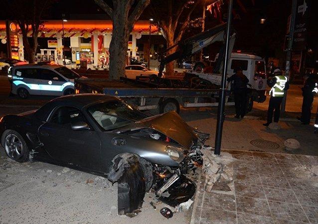 Bağdat Caddesi'nde kaza