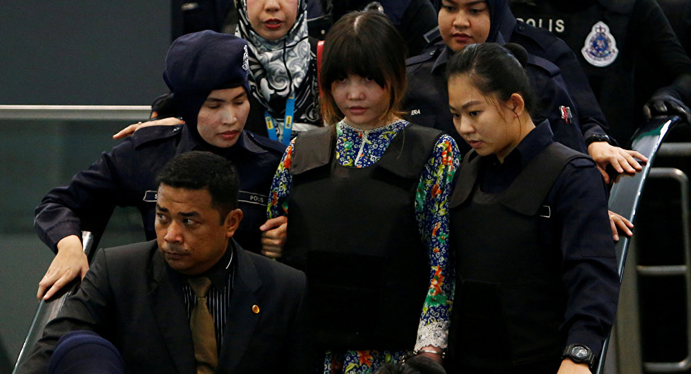 Kim Jong-nam suikasti zanlılarından Vietnamlı Doan Thi Huong
