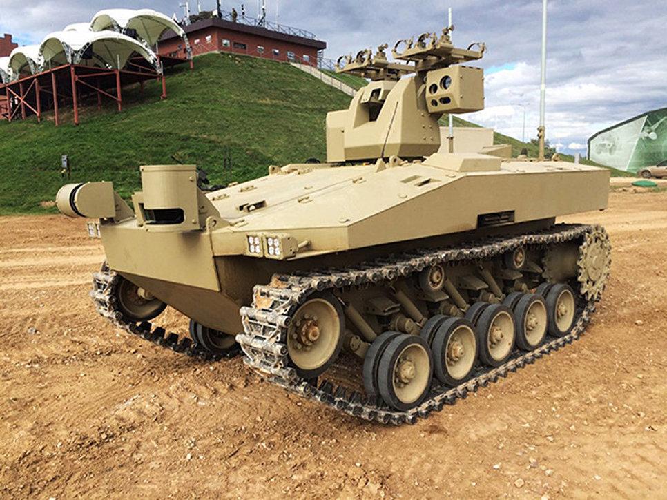 'Soratnik' otomatik savaş sistemi.