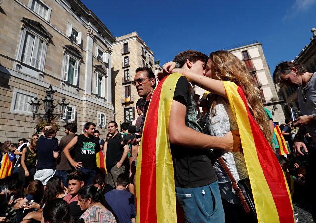 Katalonya-öğrenciler