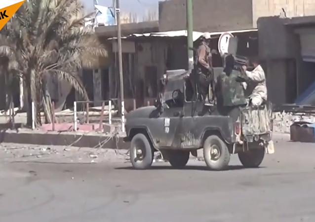 IŞİD'den kurtarılan Mayadin'den görüntüler