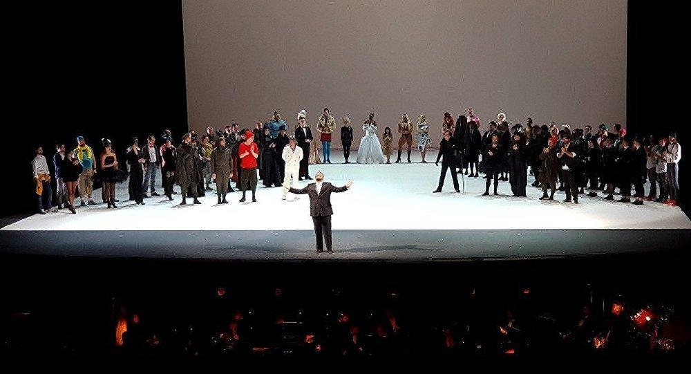 Türk tenor Murat Karahan, Moskova'da