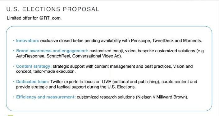 8. slaytta Twitter'in RT'ye yaptığı 'özel teklifin' avantajları anlatılıyor.