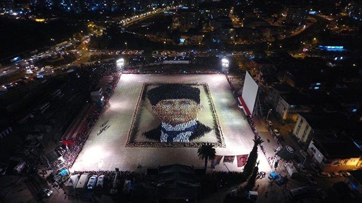 İzmir'de 29 Ekim kutlaması