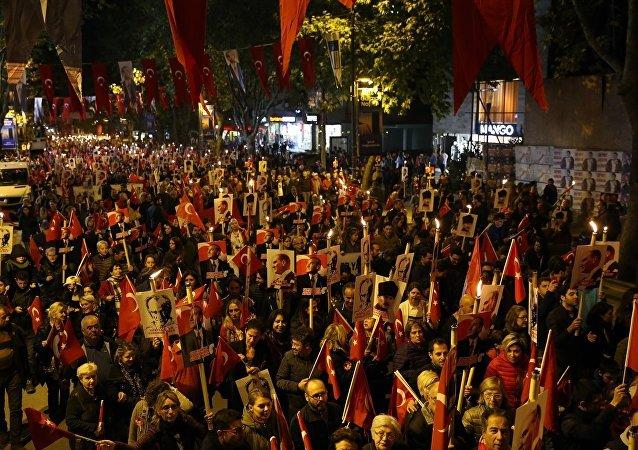 Kadıköy'de Cumhuriyet kutlamaları