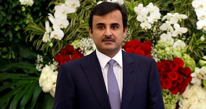 Katar Emiri Şeyh Şeyh Tamim bin Hamad el Sani