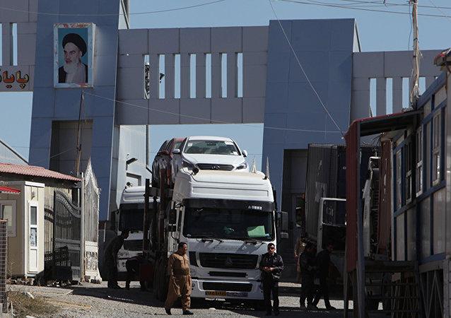 İran-IKBY arasındaki Hac Umran sınır kapısı