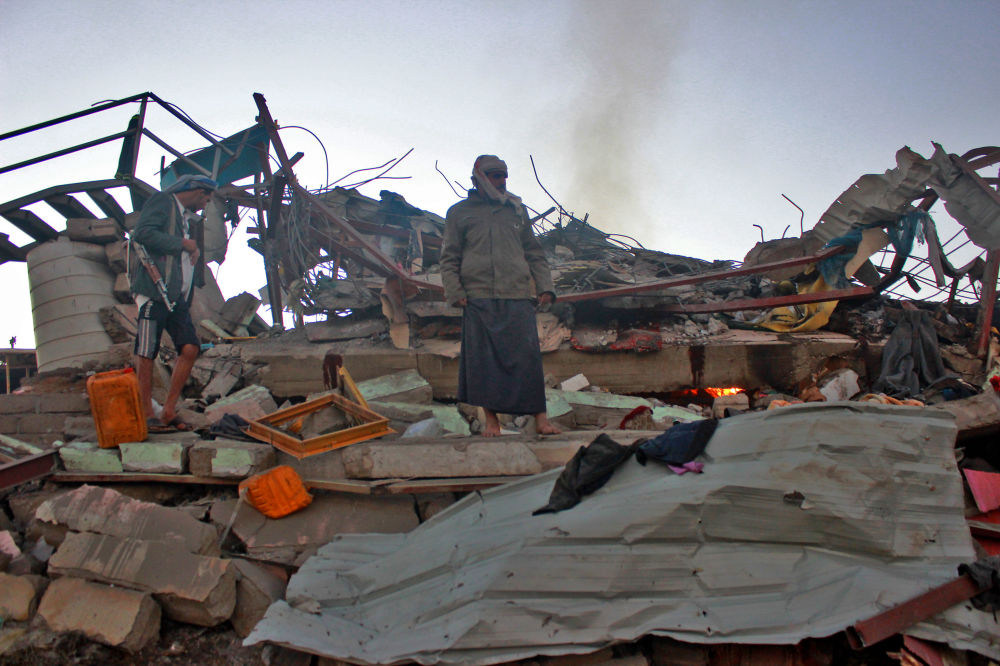 Suudi Arabistan'dan Yemen'e hava saldırısı