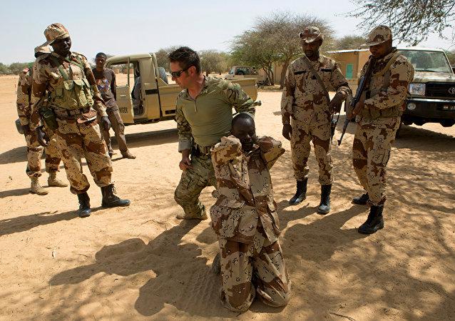 Nijer - ABD askerleri