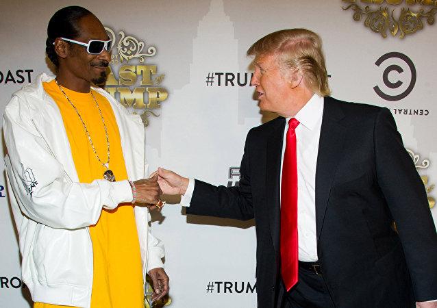 ADB'li rapçi Snoop Dogg ve ABD Başkanı Donald Trump