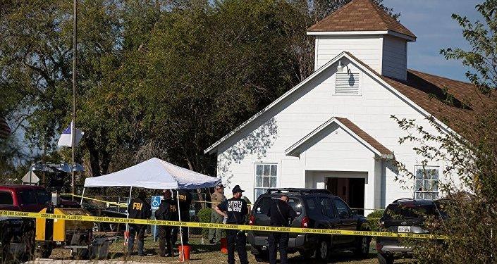 Teksas'ta kiliseye saldırı