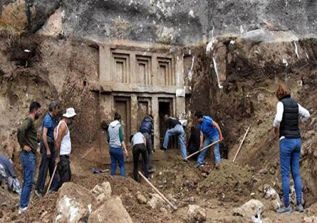 Antik mezar - Antalya