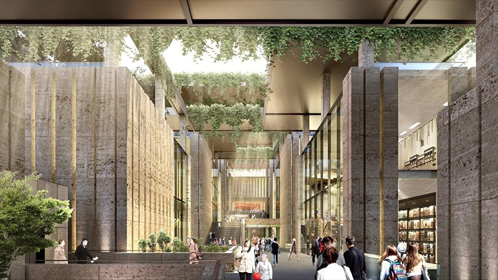 Yeni Ataturk Kultur Merkezi (AKM)