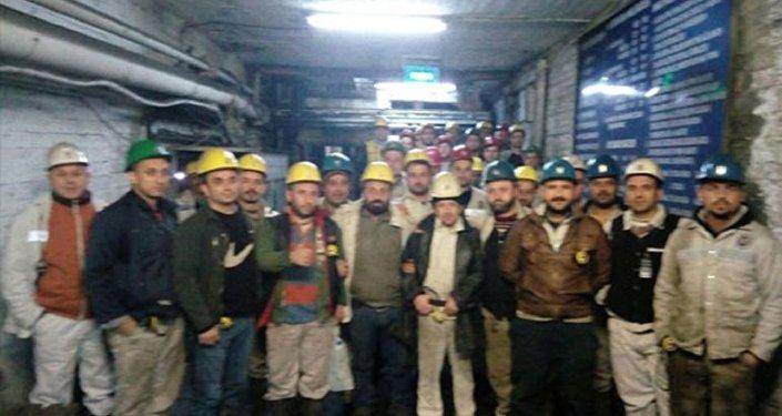 Bartın'da 'madenden çıkmama' eylemi