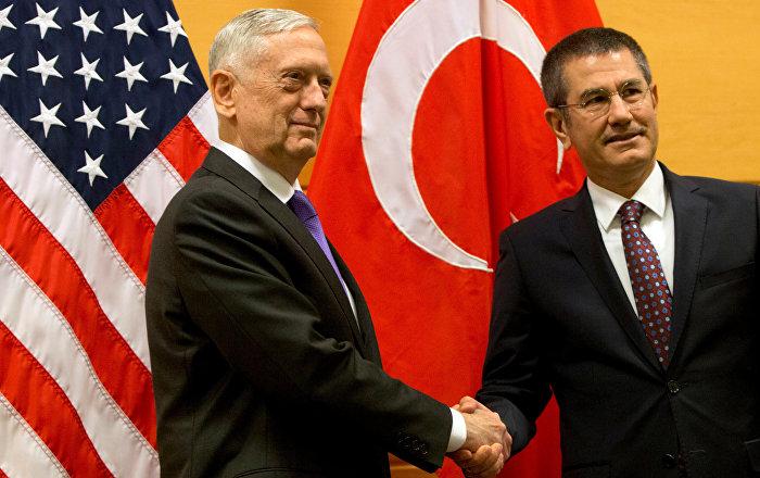 Canikli, ABD'li mevkidaşı Mattis ile görüştü