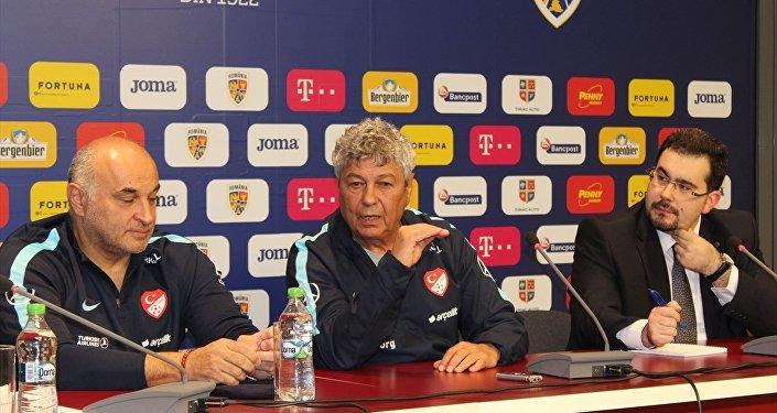 A Milli Futbol Takımı Teknik Direktörü Mircea Lucescu