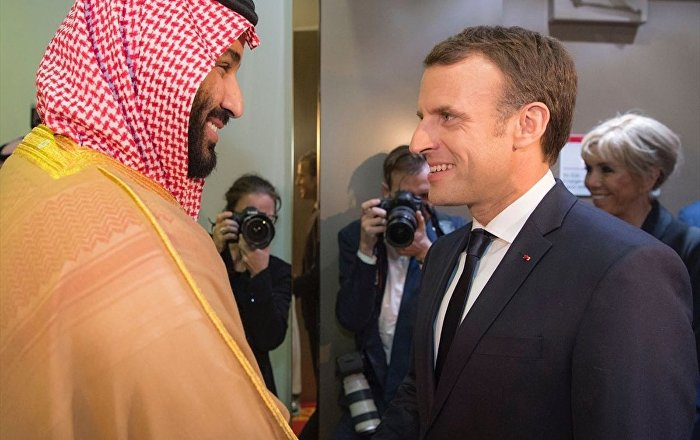 Fransa'da oklar Prens Selman'a döndü