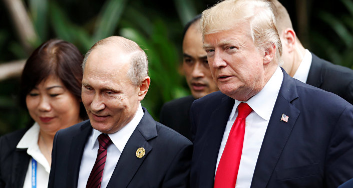 Putin - Trump - APEC Zirvesi