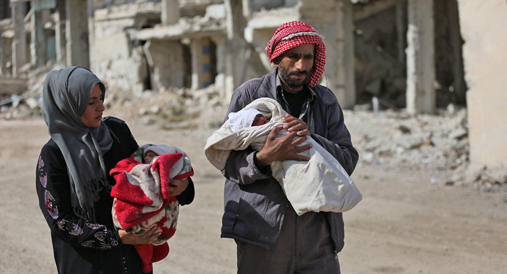 Suriyeli siviller