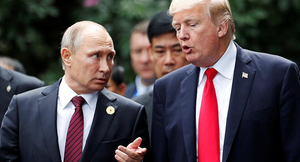 ABD Başkanı Donald Trump-Rusya Devlet Başkanı Vladimir Putin
