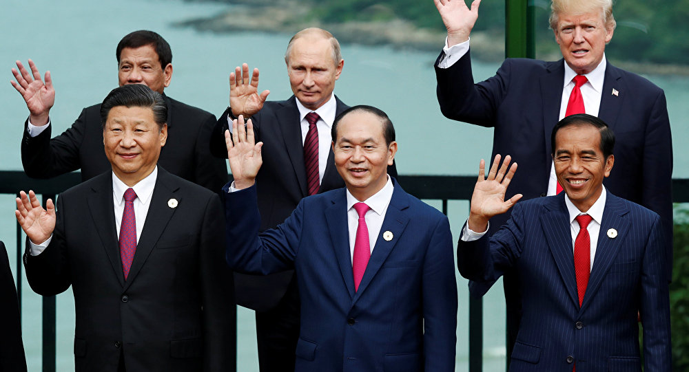 APEC aile fotoğrafı