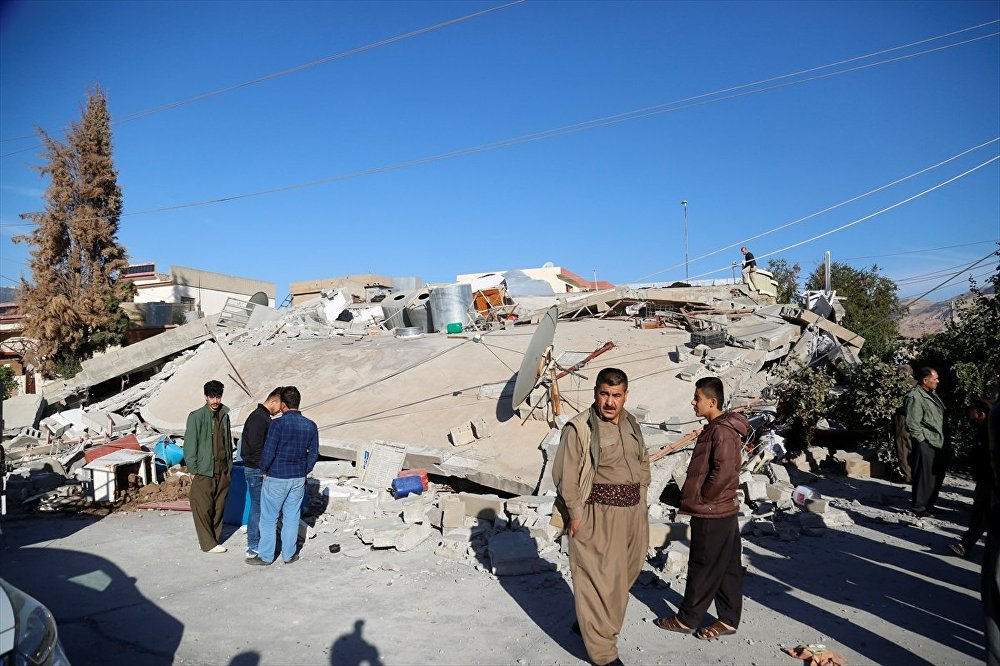 Halepçe - Deprem