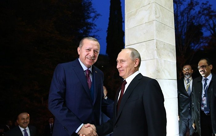 Erdoğan'dan Putin'e: Suriye hükümet güçleri Afrin'e girerse sonuçları olur