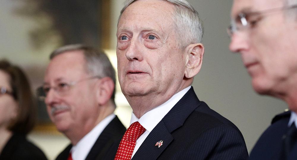 ABD Savunma Bakanı Jim Mattis