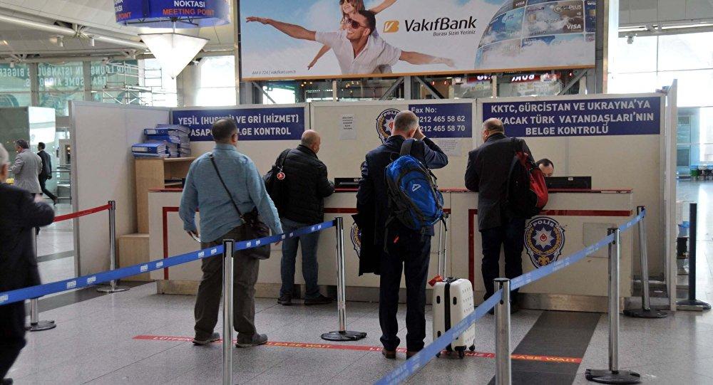 Vize- Pasaport- Sınır Kapısı