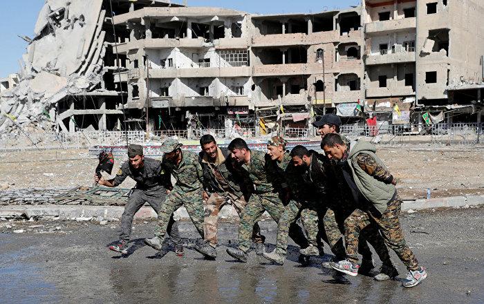 PYD Rusya Temsilcisi Abdüsselam Muhammed Ali, YPG'nin de dahil olduğu Demokratik Suriye Güçleri'nin ...
