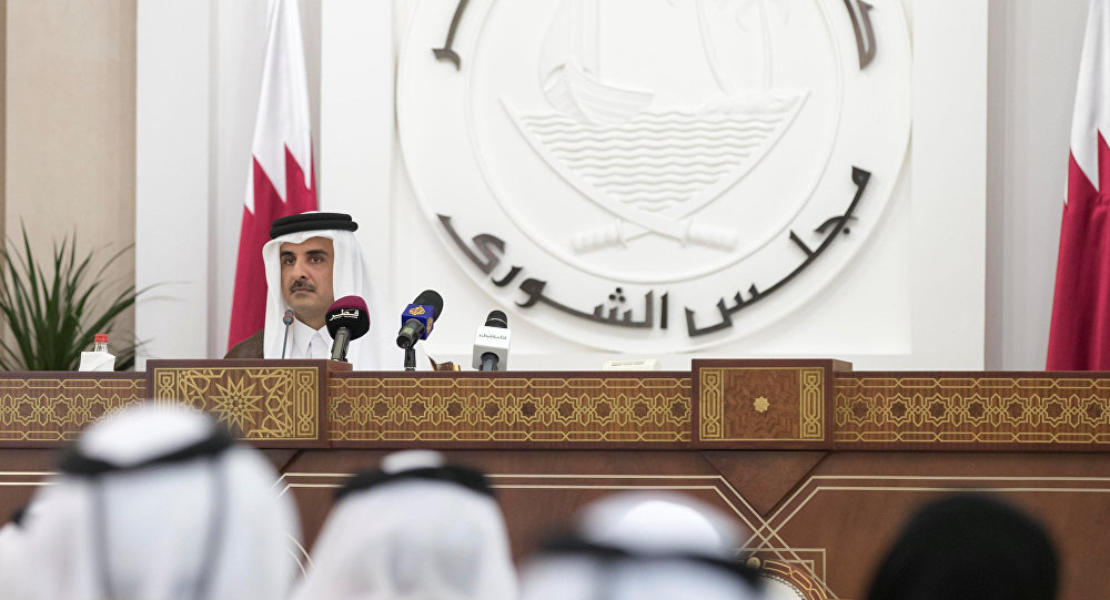 Katar Emiri Şeyh Temim bin Hamid el Sani