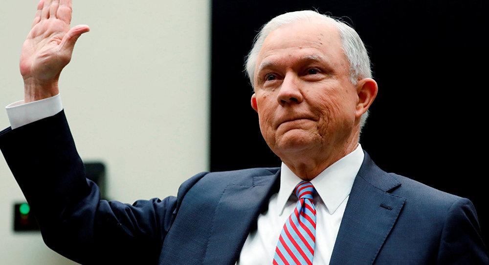 ABD Adalet Bakanı Jeff Sessions