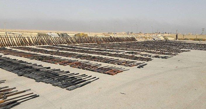 Deyr ez Zor'da ele geçirilen depolarda çok sayıda ABD silahı tespit edildi